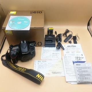Nikon - デジタル一眼レフカメラNikon(ニコン)D610セット
