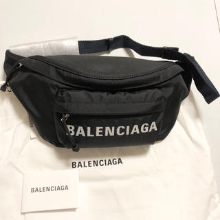 Balenciaga - 新品100%本物 BALENCIAGA  ウィール ベルト ウエストバッグ