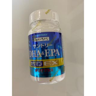 サントリー(サントリー)の新品未使用 サントリー DHA&EPA セサミンEX オリザプラス 120粒(ダイエット食品)