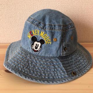 Disney - ミッキーマウス デニム帽子 テンガロンハット 50cm