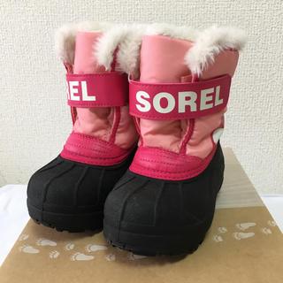 ソレル(SOREL)のSOREL キッズスノーブーツ 13cm(ブーツ)
