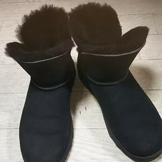アグ(UGG)のだっちゅ様専用UGG ブラック ムートンショートブーツ(ブーツ)