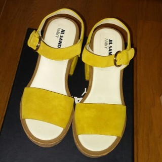 Jil Sander - 格安❗ ジルサンダーネイビー 靴 シューズ サンダル パンプス
