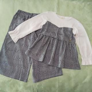 キムラタン(キムラタン)のdolcina (ドルチーナ ) トップスとスカンツのセットアップ  (Tシャツ/カットソー)