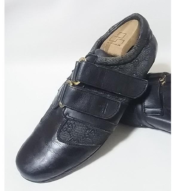 Gucci(グッチ)の 希少オールドグッチ高級ベルクロスニーカー!人気GG総柄!黒ビンテージ    メンズの靴/シューズ(スニーカー)の商品写真