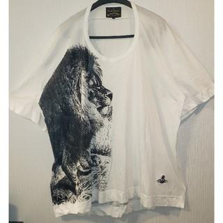 ヴィヴィアンウエストウッド(Vivienne Westwood)のインポート🦁ライオン ビッグTシャツ🦁美品🌟ヴィヴィアンウエストウッド(Tシャツ(長袖/七分))