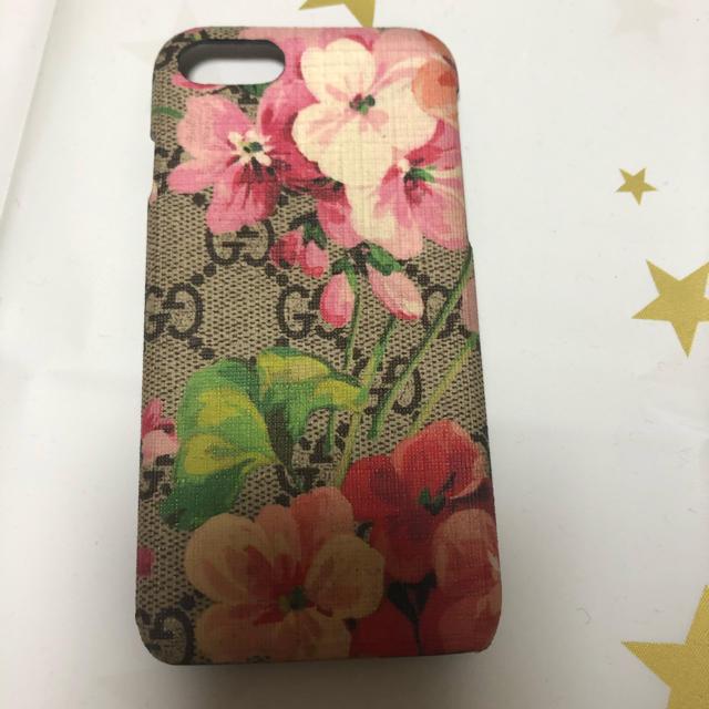 Gucci - GUCCI グッチ iPhone7、8ケース 花柄の通販