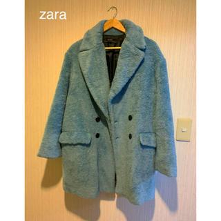 ZARA - ZARA ブルーコート