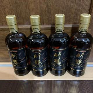 アサヒ(アサヒ)の竹鶴 ピュアモルト 4本セット 箱あり(ウイスキー)