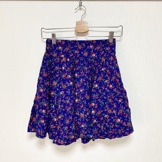 LOWRYS FARM - 花柄ミニスカート