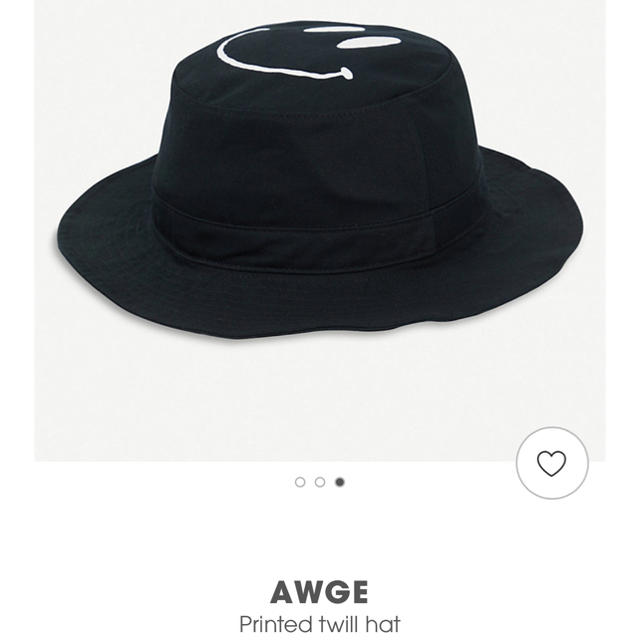 Supreme(シュプリーム)の込み midnight rave Awge All Smiles Boonie メンズの帽子(ハット)の商品写真