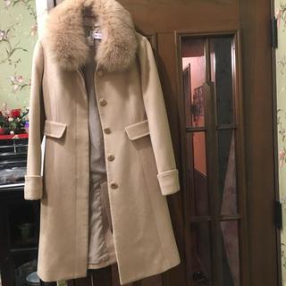 ミッシュマッシュ(MISCH MASCH)のミッシュマッシュ ロングコート ベージュ ミルクティー色 お嬢様コート(ロングコート)