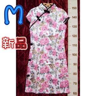 新品タグ付*Mチャイナドレス(その他ドレス)
