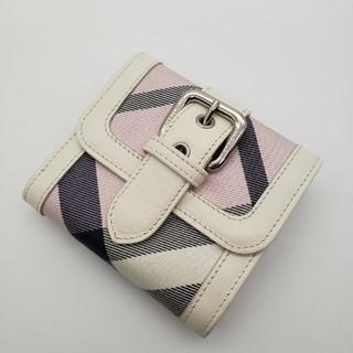 バーバリーブルーレーベル(BURBERRY BLUE LABEL)のバーバリー2つ折り財布(財布)