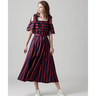 GRACE CONTINENTAL - グレース コンチネンタル グレース クラス レジメンタルタック スカート