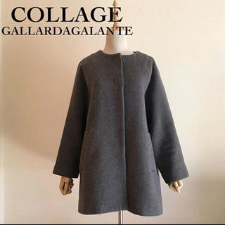 COLLAGE GALLARDAGALANTE  ノーカラーコート F