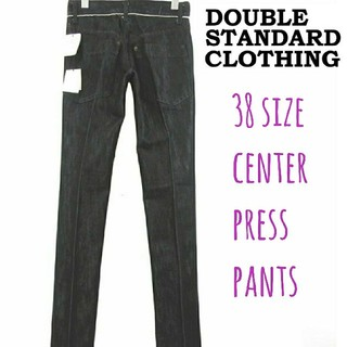 ダブルスタンダードクロージング(DOUBLE STANDARD CLOTHING)のダブルスタンダードクロージング センタープレスデニム 38(デニム/ジーンズ)