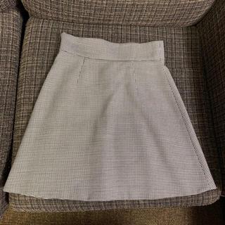 ミュウミュウ(miumiu)のmiumiu 千鳥格子柄スカート 36(ミニスカート)