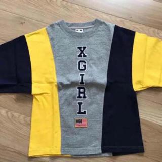 エックスガール(X-girl)の数回のみ トリコロール 半袖カットソー(カットソー(半袖/袖なし))