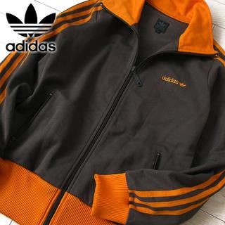 アディダス(adidas)の美品 L アディダス 90's レディース ジャージ/ジャケット ブラウン(その他)