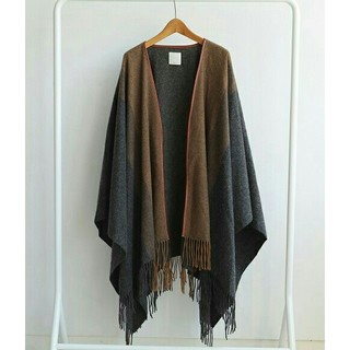 TODAYFUL - 【美品】定価¥23760 TODAYFULパイピングウールガウン 羽織りポンチョ