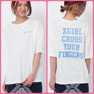 エックスガール(X-girl)のチャンピオン コラボTシャツ(Tシャツ(半袖/袖なし))