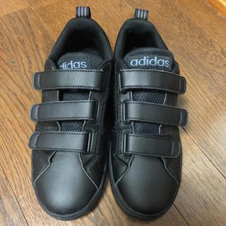 adidas - アディダスネオ スニーカー 黒 adidas