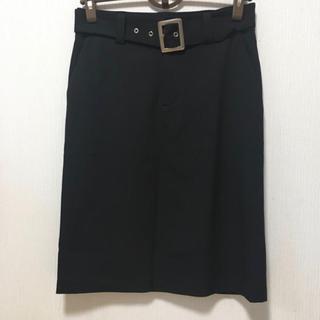 アニエスベー(agnes b.)のアニエスベー  飾りベルト付きスカート(ひざ丈スカート)
