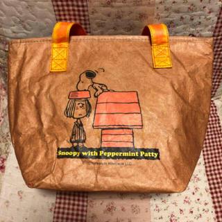 SNOOPY - 新品 スヌーピー ピーナッツ 弁当 ランチバッグ 保冷バッグ トートバッグ
