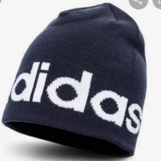 adidas - アディダス 帽子 ニット帽 キャップ リニアロゴビーニー ED0313