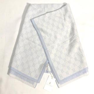 Gucci - 【未使用タグ付き】グッチ ベビー GGパターン ウール ブランケット おくるみ