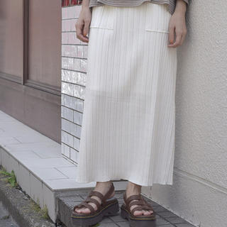 ダブルクローゼット(w closet)のポケット付きロングスカート(ロングスカート)