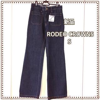 RODEO CROWNS - 【新品】 RCWB ロデオクラウンズ ワイド デニム パンツ レディース S