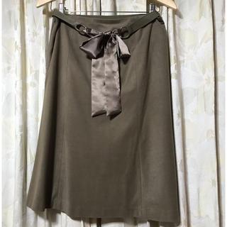 23区 - 23区 上品なひざ丈スカート サイズ40