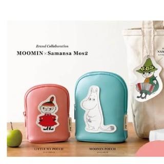 サマンサモスモス(SM2)の未使用 ムーミン谷の仲間たち ポーチ(2種) & ネームタグ  (ポーチ)