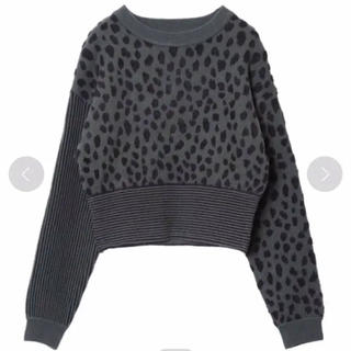 Ameri VINTAGE - Ameri MINI DALMATIAN MIX KNIT TOP