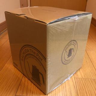 BALMUDA - 新品未開封 バルミューダ電気ケトル The Pot K02A-BK