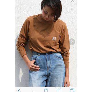 カーハート(carhartt)のカーハート carhartt 長袖 tシャツ ブラウン 茶(Tシャツ(長袖/七分))