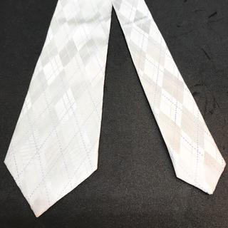 ユナイテッドアローズ(UNITED ARROWS)のユナイテッドアローズ ネクタイ 高級シルク 日本製 ストライプ 紺(ネクタイ)