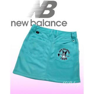 ニューバランス(New Balance)の2019年新作✨ 美品♡ ニューバランスゴルフ ボストンテリア  ゴルフスカート(ウエア)