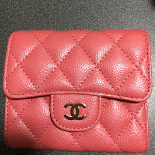 CHANEL - CHANELコンパクト財布