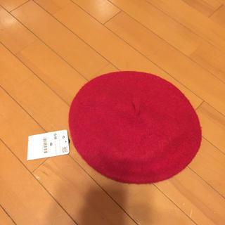 ザラ(ZARA)の未使用タグ付きZARAベレー帽(ハンチング/ベレー帽)