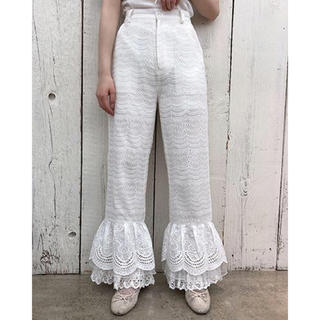 one after another NICE CLAUP - petite frill pants