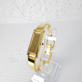 Gucci - GUCCI 腕時計 1500L 稼働中 t184