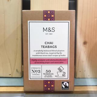 紅茶 新品 M&S マークス&スペンサー チャイ ティー