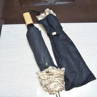 BURBERRY - バーバリー 折りたたみ傘 レア美品