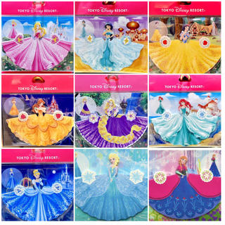 Disney(ディズニー)のディズニー プリンセス ドレスメモセット エンタメ/ホビーのおもちゃ/