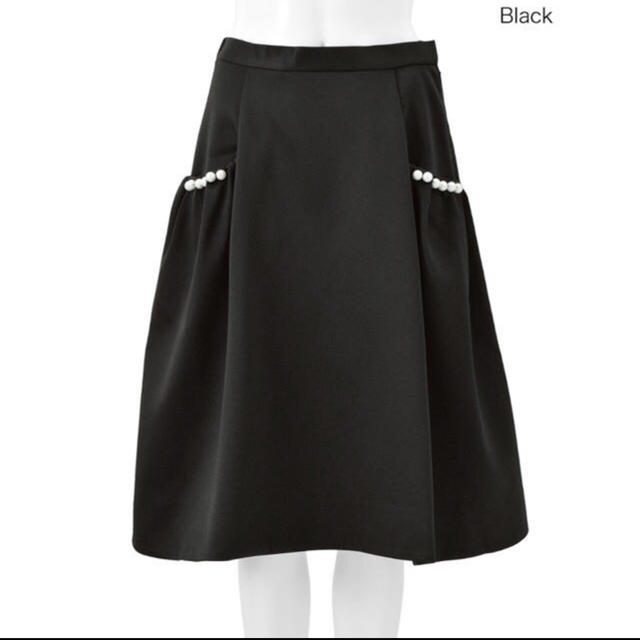 Chesty(チェスティ)のチェスティ♡パールフレアスカート レディースのスカート(ひざ丈スカート)の商品写真