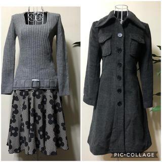 アーモワールカプリス(armoire caprice)のarmoire caprice🌸コート&フレアースカート&ニットセーターセット(セット/コーデ)