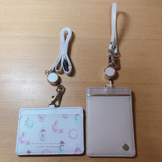 AfternoonTea - 新品 リール付きパスケース 定期入れ  カード